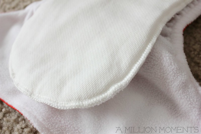 unbleached cotton diaper insert