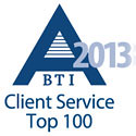 BTI A-Team Client Service Top 100
