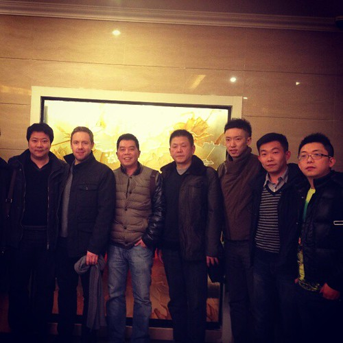 With Shibin Song and bassoonists from the 3 full-time orchestras around Chengdu, China