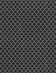 14 ML Moroccan Tile Chalkboard - standard or letter size 350dpi