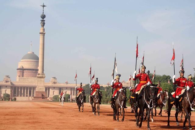 City Hangout – Change of Guards, Rashtrapati Bhawan