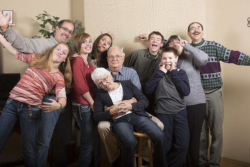 My goofy family by The Bacher Family