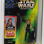 Star Wars - Mara Jade - (Carded) (Signed by Timothy Zahn)