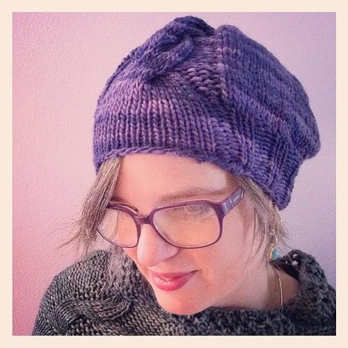 Ready for a cold day with a Sfumature hat:) Pronta per una fredda giornata con un cappello Sumature:)