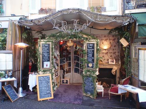 mougins, dekoracje świąteczne