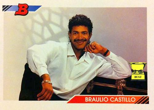 Baseball Card Bust Braulio Castillo 1992 Bowman