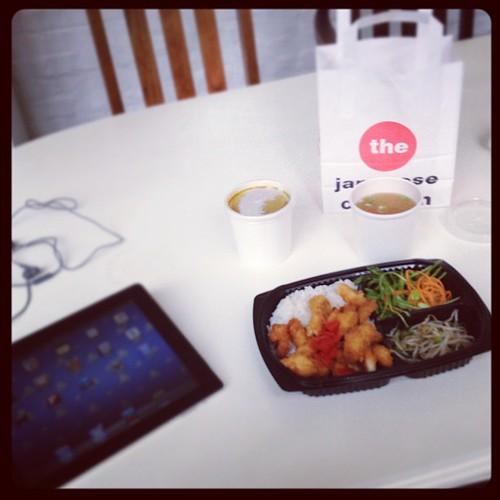 Dinner, breakfast and lunch in one #busymatt
