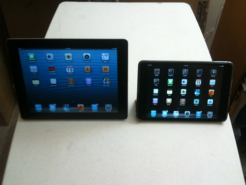 iPad 2 and iPad mini
