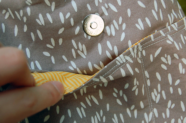 Runaround Bag (Pocket detail)