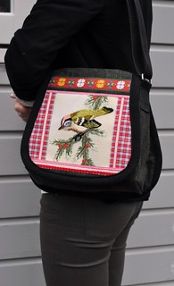 winter bird bag