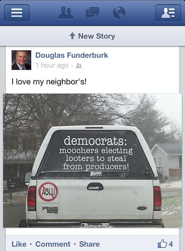 Rep. Doug Funderburk Cares About All His Constituents