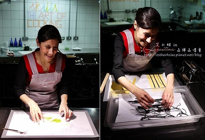 10 雙色義大利餃鑲鮭魚