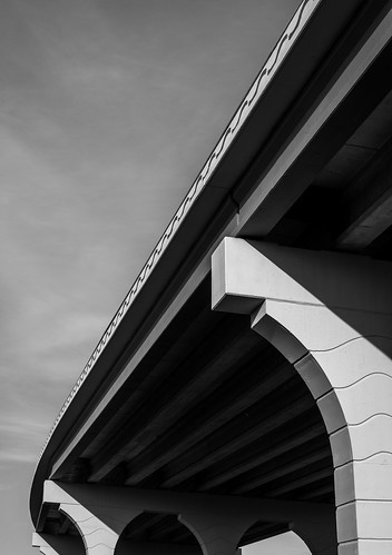 blue sky blackandwhite white black art cars lines architecture landscape blackwhite texas unitedstates curves engineering brazoria nikon50mm nikond600