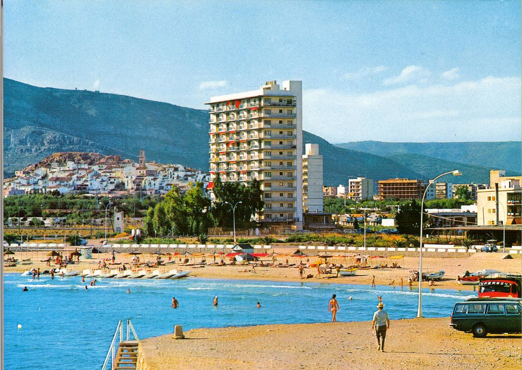 Playa de la concha. Años 70