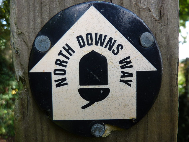 North Downs Way disc