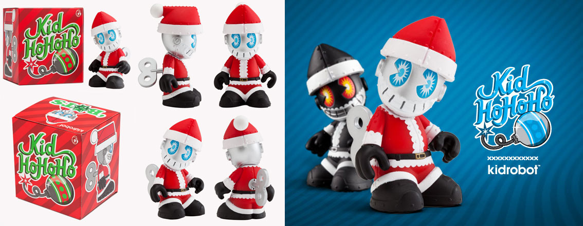 KIDROBOT KID HOHOHO BOTS SANTA CLAUS BLINDBOX DESIGNER TOY Christmas