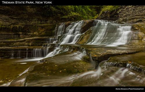newyork water waterfall tremanstatepark