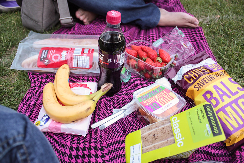 picnic at Champs de Mars