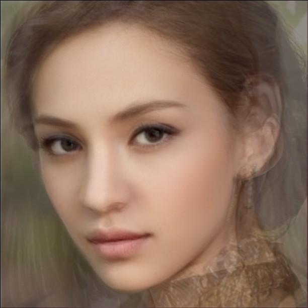 7 average face of seven women flickr   photo