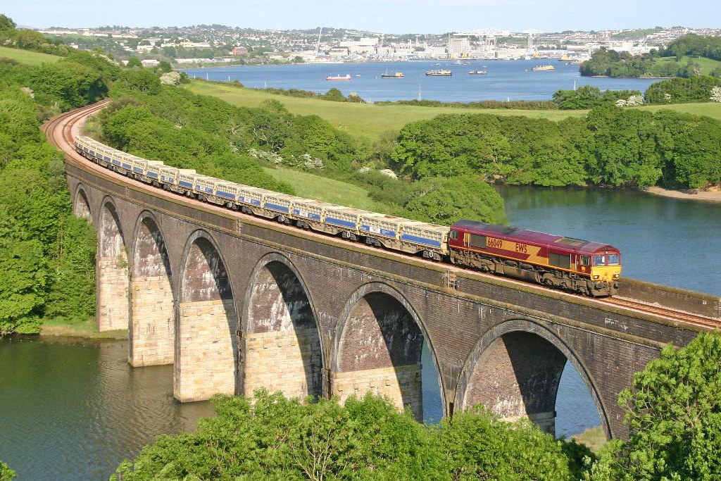 66049 - Forder Viaduct. *