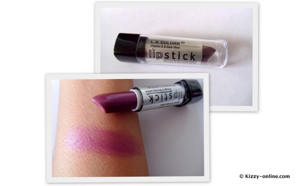 LA Colors Lipstick Frozen Berries