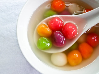IMG_1954 七彩汤圆,colorful tang yuan