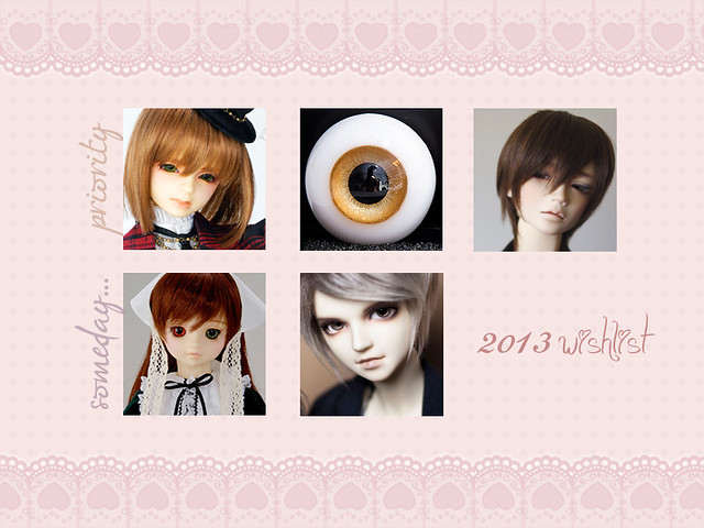 2013 Doll Wishlist