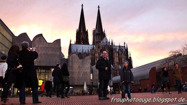 Abendstimmung am Kölner Dom