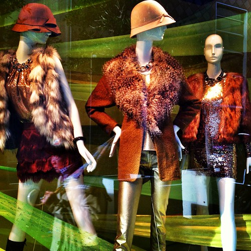Winter Fashion Window