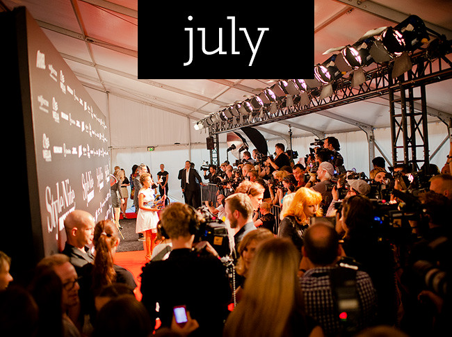 überlin's highlights of 2012: July