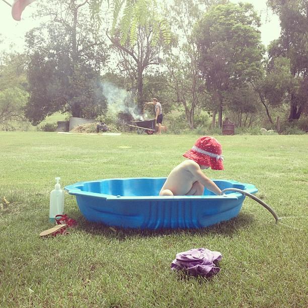 Bathtime.