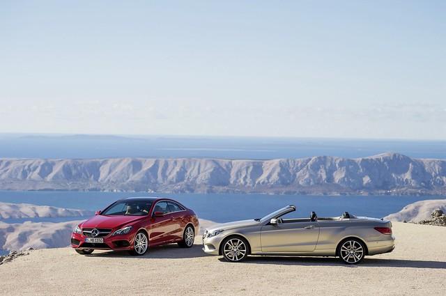 Mercedes-Benz E 500 Coupe pack AMG Sport (C 207), 2012, E 350 BLUETEC Cabrio con pack Sport, (A 207), 2012