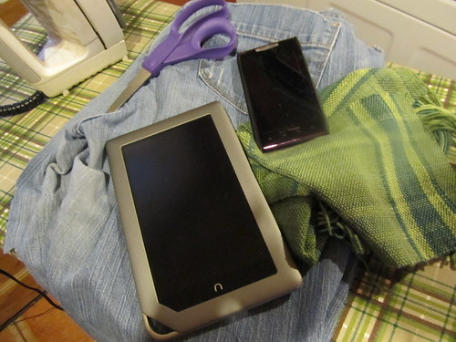 Nook cover: stage one