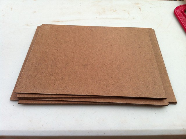 Hardboard Panel For Painting ~ Weston hobdy making hardboard painting panels part