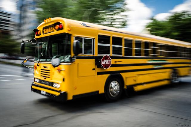 School bus Panning.