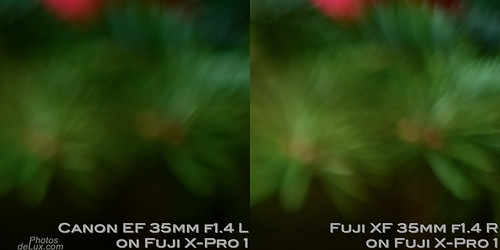 Fuji XF 35mm vs Canon EF 35mm f1.4 No.4