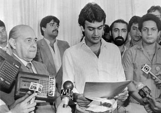 Tancredo e Aécio Neves - Governo de Minas - 08/1984