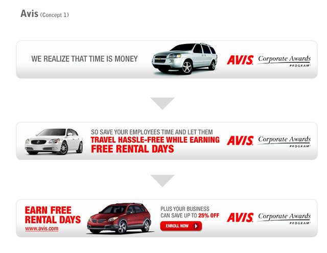 avis car rental banner ad 2 flickr photo sharing. Black Bedroom Furniture Sets. Home Design Ideas