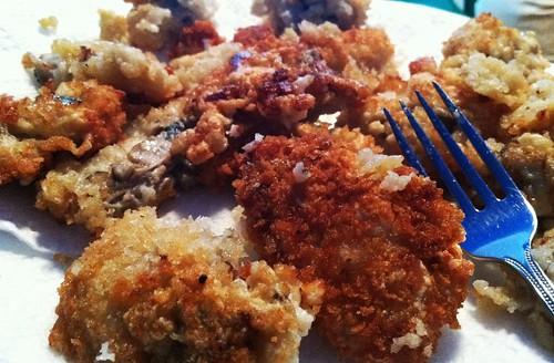 fresh gulf oysters...