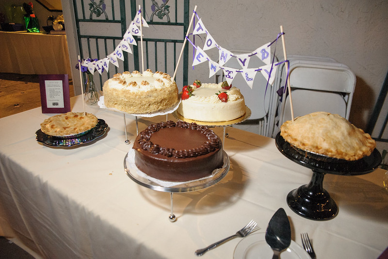 Cake and Pie Display