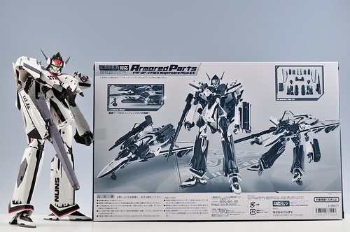 BANDAI Armored Parts for VF-171EX Nightmare Plus EX 箱 後