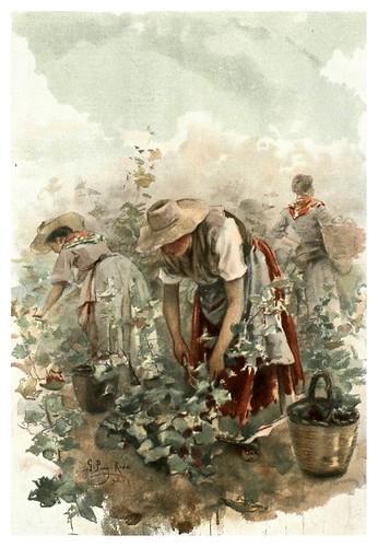 014-Las vendimiadoras- Gabril Puig-Roda- Album Salon 01-1907- Hemeroteca digital de la Biblioteca Nacional de España