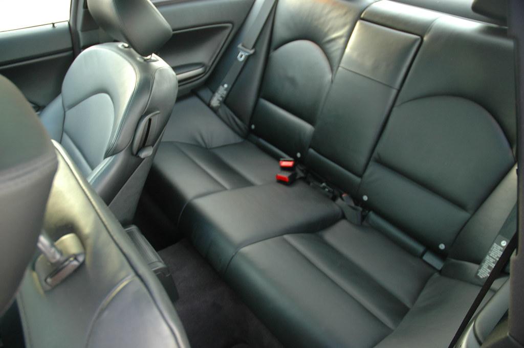 M3 Rear Seats