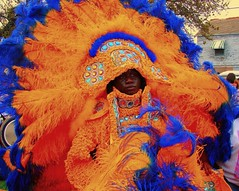 Mardi Gras indian (by: Mark Gstohl, creative commons license)