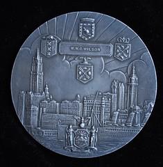 Tercentenary Medal reverse - W.W. Wilson
