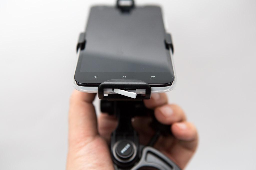 蝴蝶機可用!Car iHolder 2 可調式多機型對應車架 @3C 達人廖阿輝