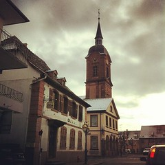The sky is not really promissing so far today - Photo of Ringeldorf
