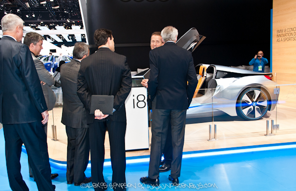 The North American International Auto Show NAIAS 2013