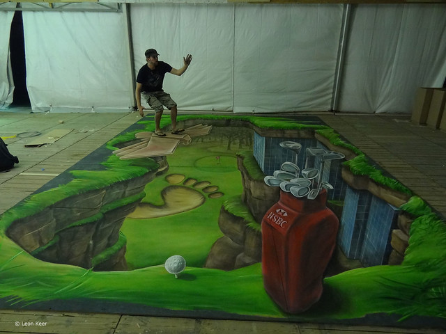 3d-painting-HSBC-golf-championship