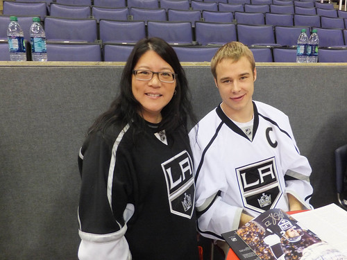 Dustin Brown & me